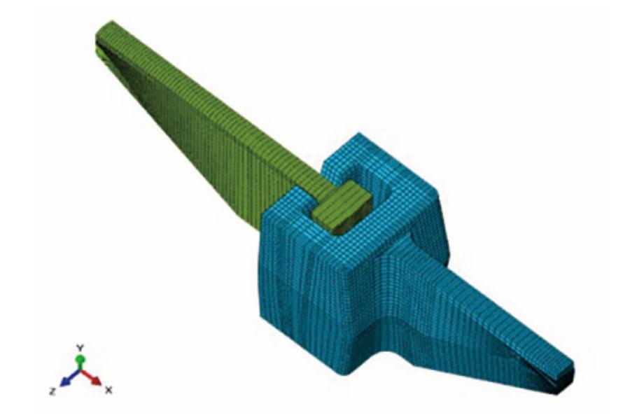 鋼製製品の接触非線形を考慮したFEM解析